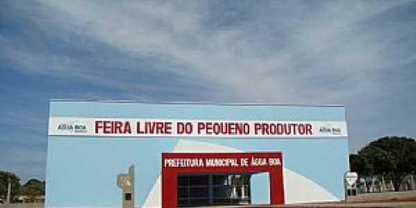 Água Boa-MT-Feira Livre do Pequeno Produtor-Foto:Marcos Liell