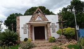 Alcantilado - Alcantilado-MT-Igreja Matriz-Foto:Minoru Onoe