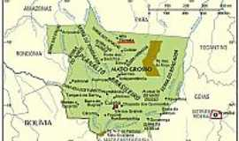 Alta Floresta - Mapa