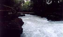 Alto Araguaia - Alto Araguaia-MT-Cachoeira dos Padres-Foto:camaraaltoaraguaia.mt.
