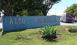 Alto Araguaia - Alto Araguaia-MT-Entrada da cidade-Foto:www.teatrodetabuas.com.br