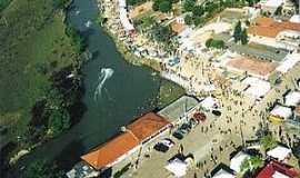 Alto Araguaia - Alto Araguaia-MT-Vista aérea da Festa Náutica-Foto:achetudoeregiao.