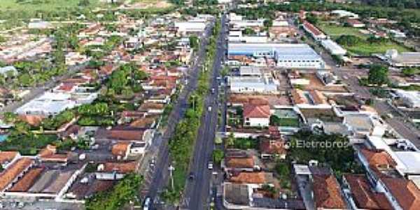 Alto Araguaia-MT-Vista aérea-Foto:altoaraguaia.mt.