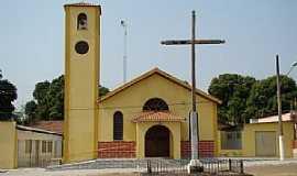 Alto Coité - Alto Coité-MT-Igreja Matriz-Foto:Leandro Luciano