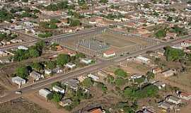 Alto Garças - Alto Garças-MT-Vista aérea do Complexo Poliesportivo Dianary Ribeiro-Foto:Danilo Ribeiro