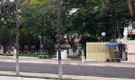 Alto Garças - Alto Garças-MT-Praça na Avenida principal-Foto:João Carlos vicente Ferreira