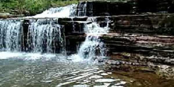 Alto Garças-MT-Cachoeira do Lageado-Foto:pmag2009