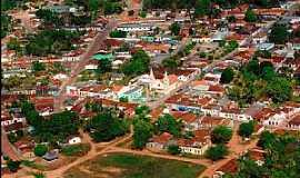 Alto Paraguai - Alto Paraguai-MT-Vista aérea do centro-Foto:gelsojunior