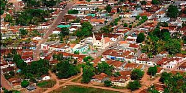 Alto Paraguai-MT-Vista aérea do centro-Foto:gelsojunior