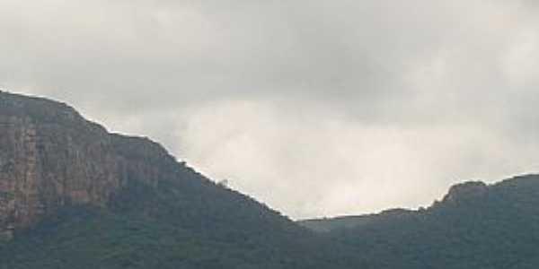 Bom Sossego-BA-Serra da região-Foto:acarlosrodrigues