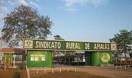 Apiac�s - Sindicato Rural de Apiac�s-MT -  por Valdenir Santana