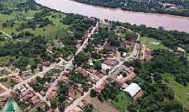 Araguaiana - Araguaiana-MT-A cidade e o Rio Araguaia-Foto:Walmor Barros