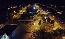 Araguaiana - Araguaiana-MT-Vista noturna do centro-Foto:Walmor Barros