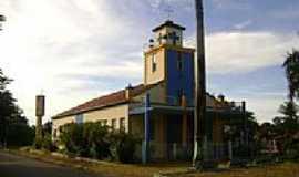 Araguaiana - Igreja Matriz N.Sra.da Piedade em Araguaiana-Foto:Eduardo Gomes de Andrade