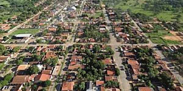 Araguaiana-MT-Vista aérea-Foto:Walmor Barros