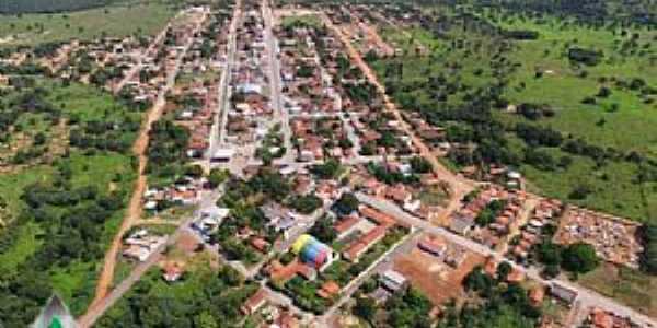 Araguaiana-MT-Vista da cidade e região-Foto:Walmor Barros