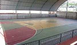 Araputanga - Araputanga-MT-Interior do Ginásio de Esportes