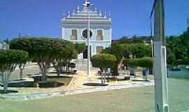 Belo Monte - Praça e Igreja Matriz de N.Sra.do Bom Conselho-Foto:Thyciano