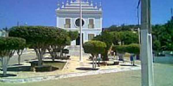 Praça e Igreja Matriz de N.Sra.do Bom Conselho-Foto:Thyciano