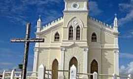Bonfim da Feira - Igreja Matriz de Bonfim da Feira-BA-Foto:Flavio Cipriano