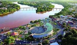 Barra do Garças - Barra do Garças-MT-Vista aérea-Foto:portaldoaraguaia.tur.br