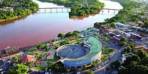 Barra do Garças-MT-Vista aérea-Foto:portaldoaraguaia.tur.br