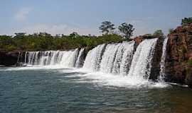 Batovi - Batovi-MT-Cachoeira do Jatobá-Foto:Rogério Salles