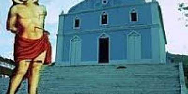 Igreja de São Sebastião em Nova Colina-Boninal-Foto:novacolina.