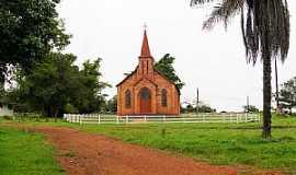Buriti - Buriti-MT-Igreja do Colégio Evangélico-Foto:Nélio Oliveira