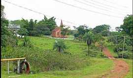 Buriti - Buriti-MT-Roda D´Água e Igreja do Colégio Evangélico-Foto:Nélio Oliveira