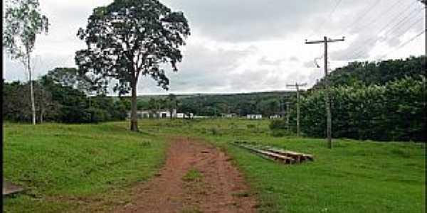 Buriti-MT-Entrada do Colégio Evangélico-Foto:Nélio Oliveira