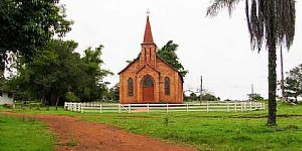 Buriti-MT-Igreja do Colégio Evangélico-Foto:Nélio Oliveira
