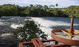 Campo Novo do Parecis - Queda D´Água no Balneário Rio Verde em Campo Novo do Parecis-MT-Foto:Fernando Henrique Za…