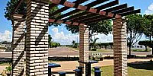 Campo Verde-MT-Quiosque na Pra�a da Saudade-Foto:@Rai Reis