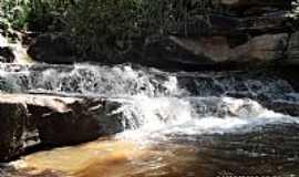 Bonito - Cachoeira da Soltinha em Bonito-BA-Foto:Danilo Primo