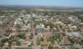 Canarana - foto aerea da cidade , Por Franciane