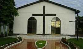 Canarana - Igreja de N.Sra.da Sallette na Vila Serra Dourada Município de Canarana-Foto:Eduardo Gomes de Andrade