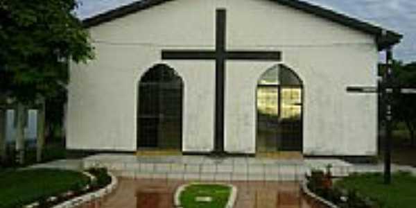 Igreja de N.Sra.da Sallette na Vila Serra Dourada Município de Canarana-Foto:Eduardo Gomes de Andrade