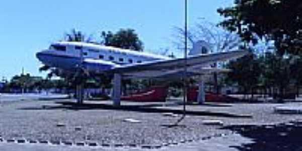 Praça do Avião em Canarana-Foto:jj.barba