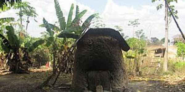 Capão Verde-MT-Fogão de pão-Quilombola Capão Verde-Foto:turismoruralmt.