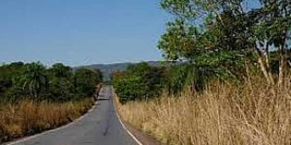 Capão Verde-MT-Rodovia MT-246-Foto:pt.maparabic.com