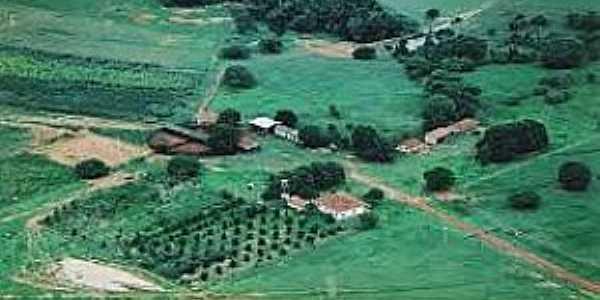Capão Verde-MT-Vista aérea da cidade e região-Foto:pt.maparabic.com