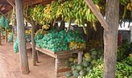 Caramujo - Venda de frutas na estrada-Foto:Washington Ribeiro