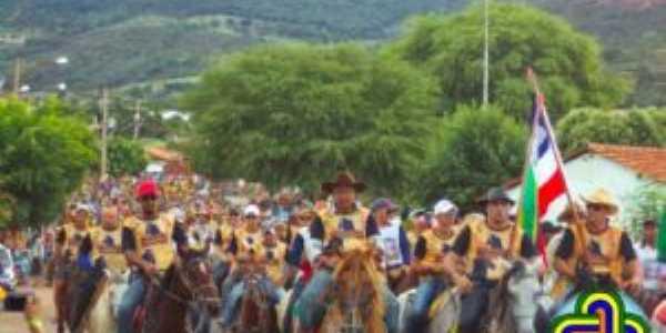 Cavalgada tradicional aniversario de Boquira., Por Eraldo Rodrigues Cardoso