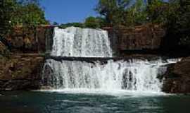 Chapada dos Guimar�es - Cachoeira da Martinha na Chapada dos Guimaraes-MT-Foto:Maverick75