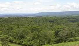 Chapada dos Guimarães - Vista da região da Chapada dos Guimaraes-MT-Foto:elizeualmeidafesa