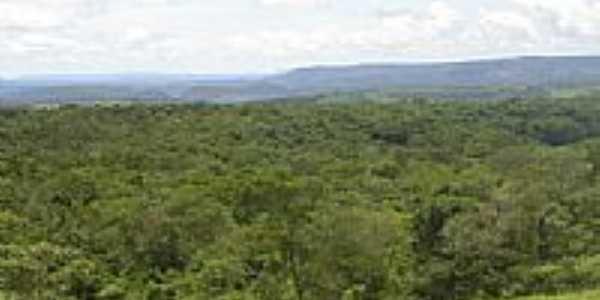 Vista da regi�o da Chapada dos Guimaraes-MT-Foto:elizeualmeidafesa