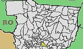 Cláudia - Mapa