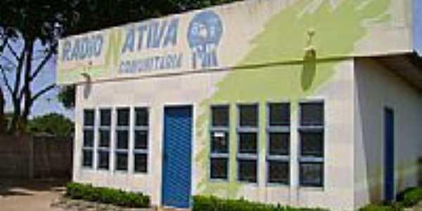 Estação de Radio-Foto:João Batista da Rádi…