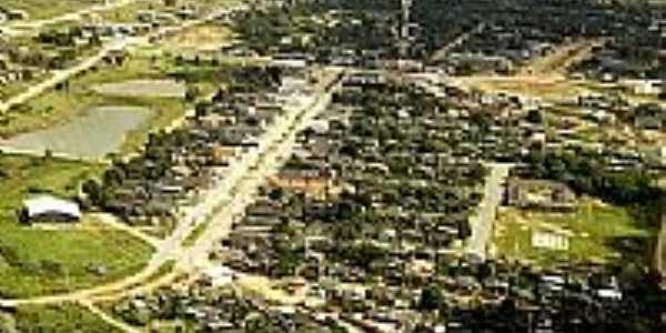 Vista da cidade de Cotriguaçu-Foto:Sandra Cotriguaçu